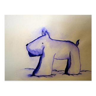 わんわん犬! Doggy de Guau-Guau! Cartão Postal