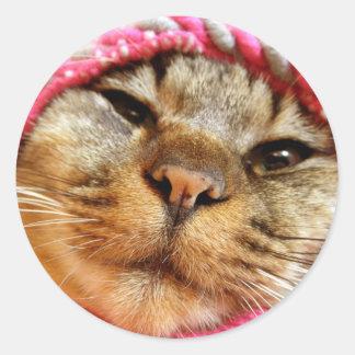 ピンク帽子のチャド ADESIVO