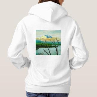 富士山 de Monte Fuji através do japonês do vintage Tshirts