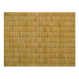 畳 da esteira de Tatami Cartoes Postais