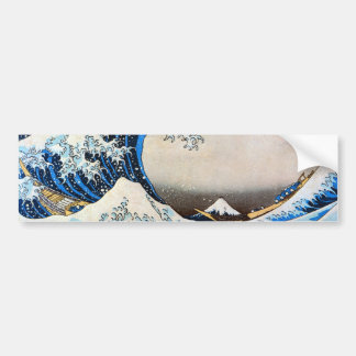 神奈川沖浪裏, grande onda do 北斎, Hokusai Adesivo Para Carro