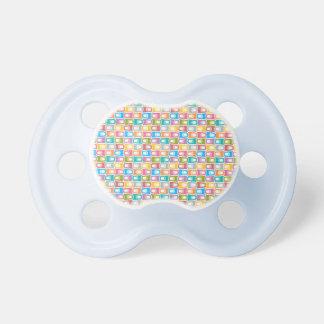 0-6 de BooginHead®baby meses de pastel retro do Chupeta Para Bebê