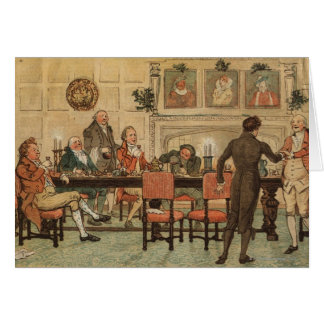 1º de dezembro de 1810: Natal em Marley Salão Cartão