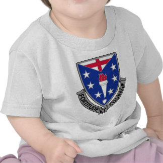 104th Regimento de infantaria - fortaleza e corage Tshirt