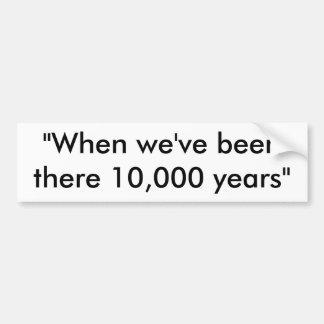 10.000 anos de autocolante no vidro traseiro adesivo para carro