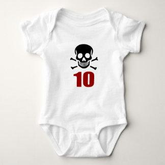 10 designs do aniversário camiseta