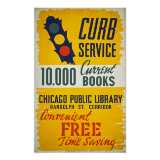 10, poster vintage atual de 000 livros
