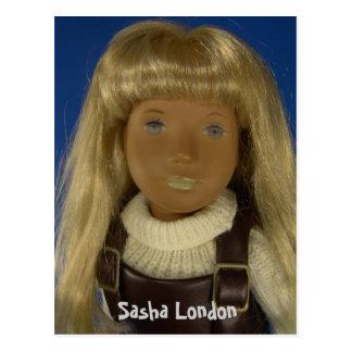 110-4 Sasha Londres cartão postal