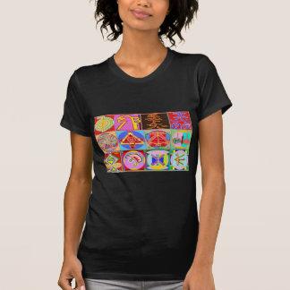 12 designs curas de Reiki n Karuna Reiki T-shirt
