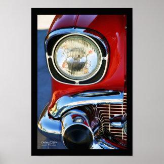 13x19-em belas artes clássicas do couro e do carro pôster