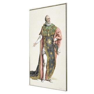 1553-1610) reis de Henri IV (de France, 'de Receui Impressão Em Canvas