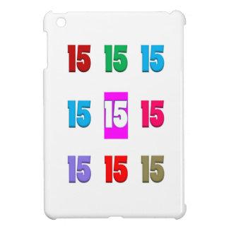 15a décima quinta data da rua do aniversário do an capa para iPad mini