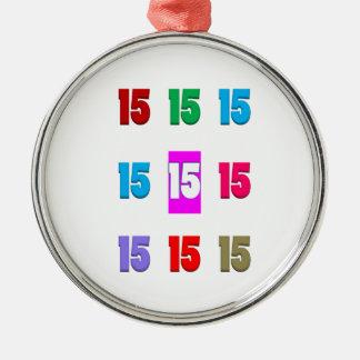 15a décima quinta data da rua do aniversário do an enfeites