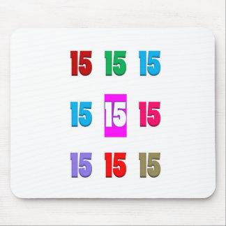 15a décima quinta data da rua do aniversário do an