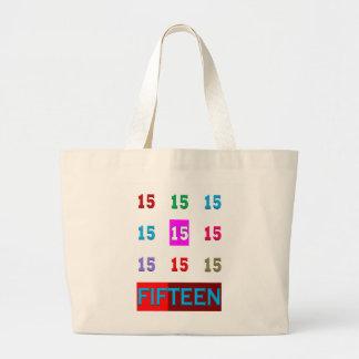 15o jogo da sala da idade do aniversário do bolsas para compras