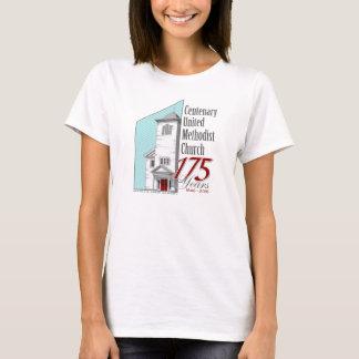 175th O t-shirt das mulheres do aniversário