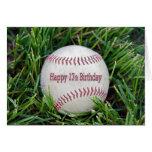 17o Aniversário com basebol