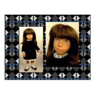 180A Sasha Velvet cartão postal