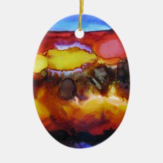 18.SpiritofTN11x14$500.JPG Ornamento De Cerâmica Oval