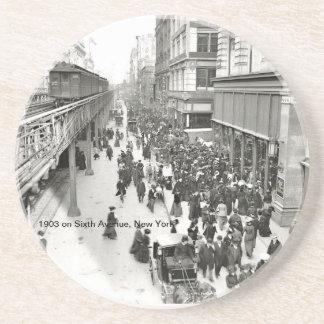 1903 na sexta avenida, porta copos de New York