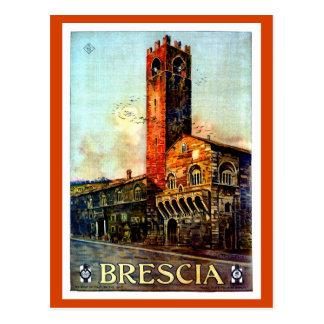 1920 italiano dos 1910s do viagem de Bríxia do Cartão Postal