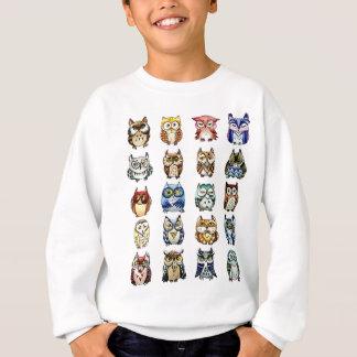 19 corujas e 1Cat Tshirt
