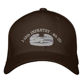 1-12o Infantaria CMB & chapéu da fita da campanha Bone Bordado