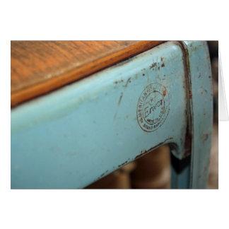 1 3:19 dos Corinthians - cartão oxidado do selo 20