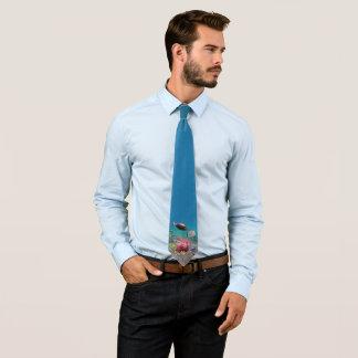 1 lado) laço tropical dos peixes ( gravata