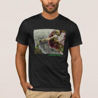 2011 t-shirt desonesto da embriologia MBL - homem