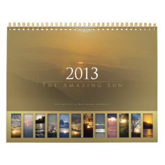 2013 - O calendário surpreendente de Sun