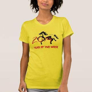 2014 anos do t-shirt do cavalo
