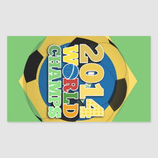 2014 bola dos campeões do mundo - sutiã adesivo retangular