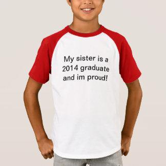 2014 camisa orgulhosa graduada do irmão t