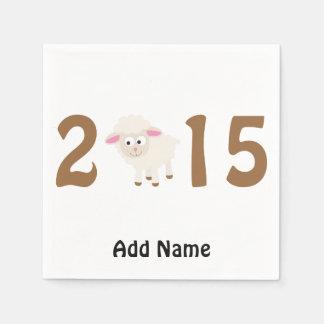2015 - Ano do design dos carneiros Guardanapo De Papel
