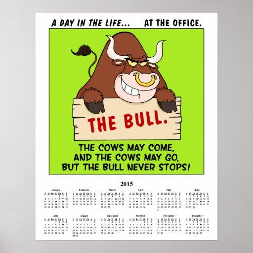 2015 política do escritório do calendário