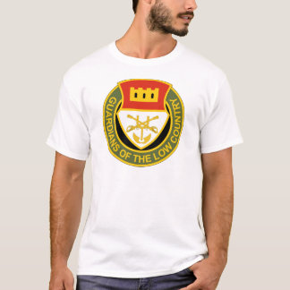 202nd Regimento de cavalaria - guardiães do baixo Camisetas
