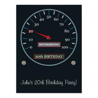 20o Convite de aniversário