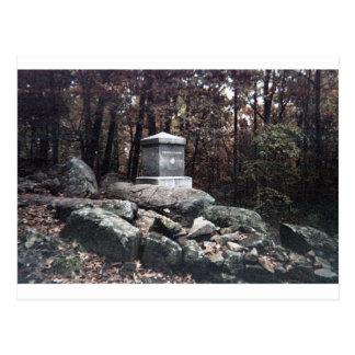 20o Memorial de Maine em pouca parte superior Cartão Postal