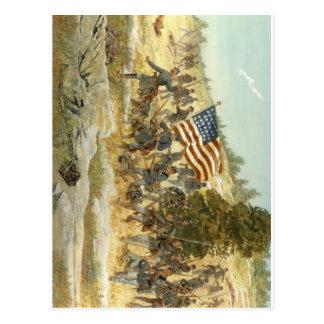 20o regimento de infantaria voluntário de maine cartão postal
