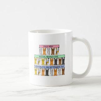 21 de setembro aniversários para povos especiais caneca de café