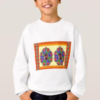 2 decorações do indiano de Ethinic da jóia de T-shirts