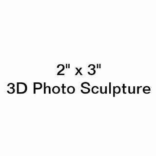 """2"""" personalizado x 3"""" escultura da foto fotoesculturas"""