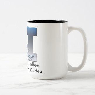 2ASD haicais do logotipo w/Coffee Caneca Dois Tons