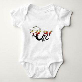 2D dragão do fogo T-shirts