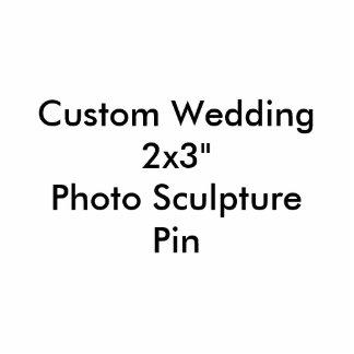 """2x3 Wedding feito sob encomenda da""""   Pin da Foto Escultura"""