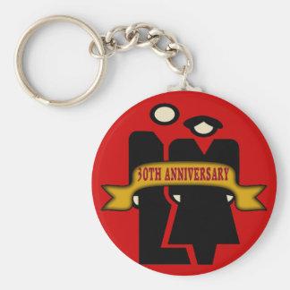 30o Presentes do aniversário de casamento Chaveiro