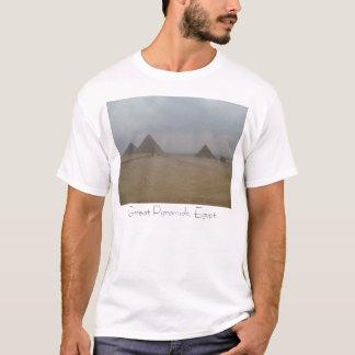 337, grandes pirâmides, Egipto Camiseta