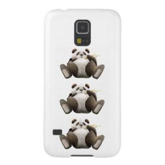 3 pandas preguiçosas capa para galaxy s5