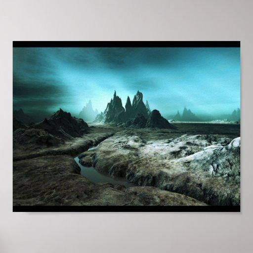 3d-landscapes-terragen03 posters
